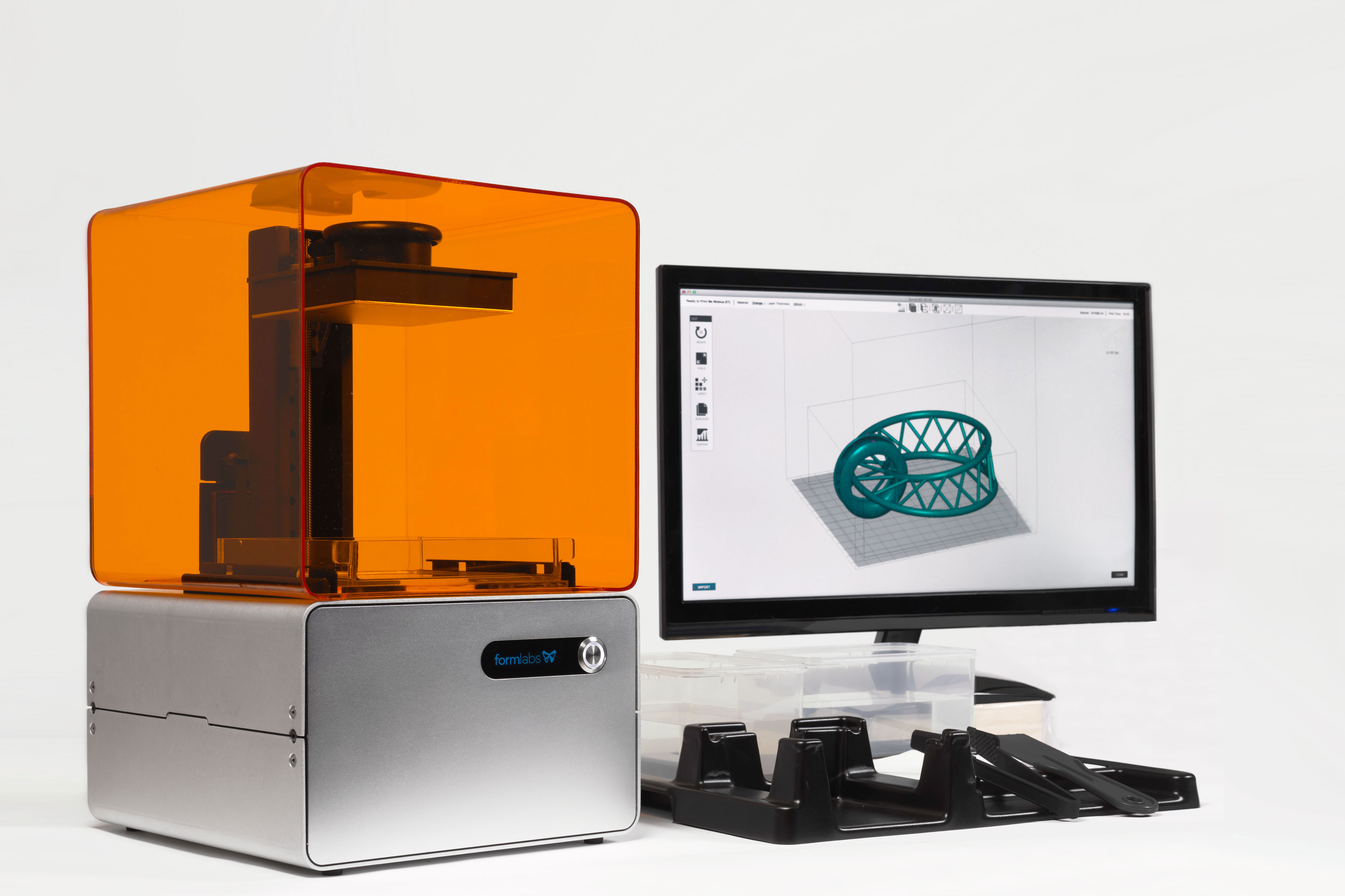 Billed as the first truly high-resolution, low-cost 3D printer for ...