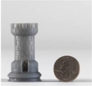 form 1 3d printed chess piece