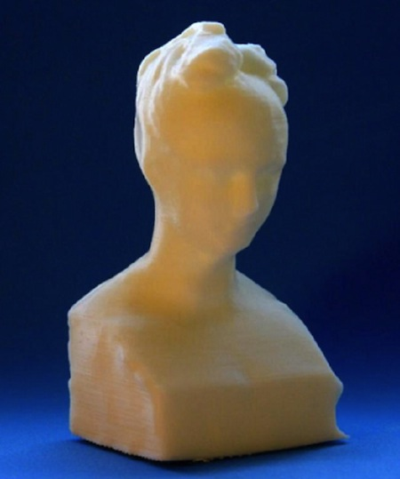 3D Printed Bust of Mary Robinson