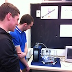 3D Printer + Students feature