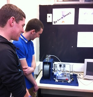 3D Printer and Students