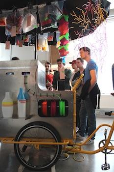 Unfold Kiosk closeup