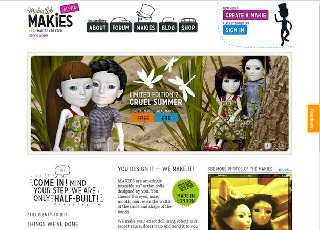 Makies Screenshot