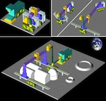 NASA 3D printing in moon feature