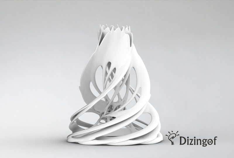 24 Cells Vase by Dizingof