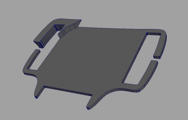 3D Model of the Buckle