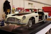Aston Martin DB5 Plastic Parts © Propshop Modelmakers Ltd.