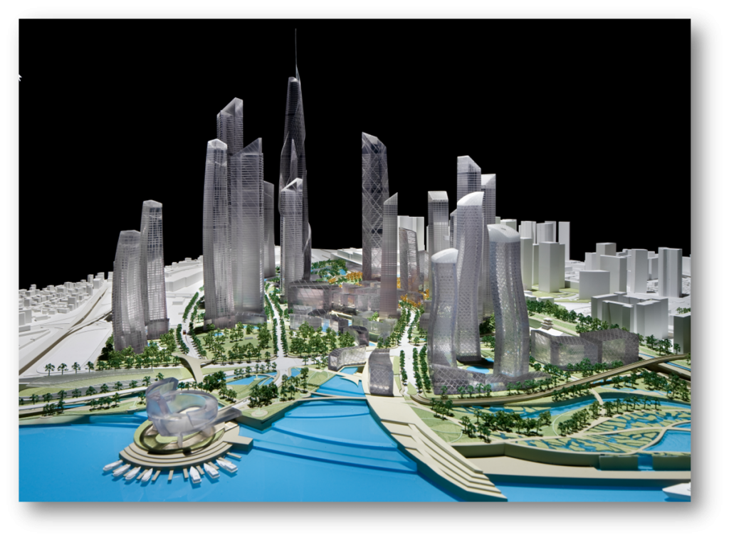 3D Printer Helps Modeling Seoul's New Business District - 3D