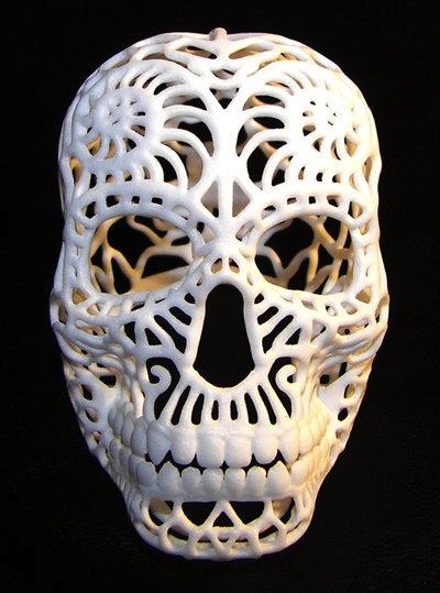 Sugar Skull by Geomatrix Studio on Etsy