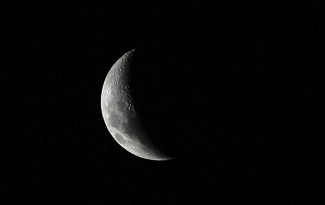 Crescent Moon by Luis Argerich