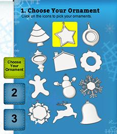 Xmas ornaments cubify