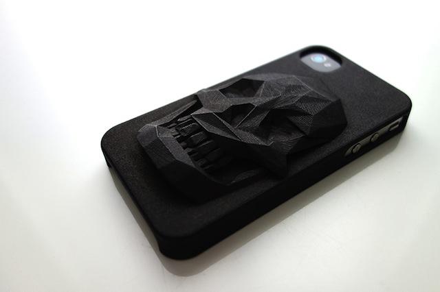 3d printed iphone skull_case_hugo arcier