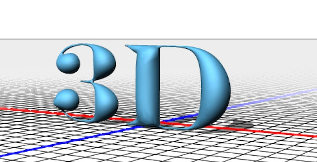 Creating 3D Models in Photoshop CS6 Extended - 3D Printing