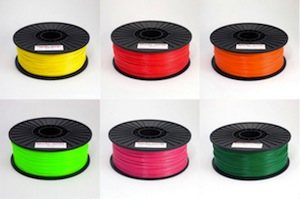 ABS filament from MakerBot