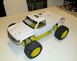 RC Truggy Concept1