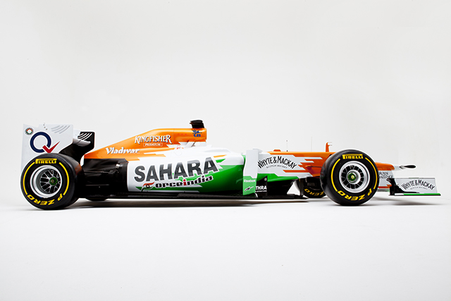 VJM05 Studio Photo Shoot - Sahara Force India F1 Car
