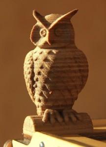 Wood material 3D printed