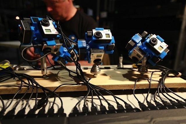 360Heros Camera Rig, image courtesy of Michael Kintner