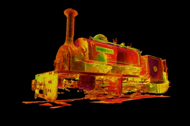 Engine 3D Scan