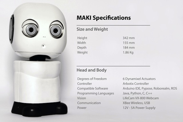 MAKI Specs