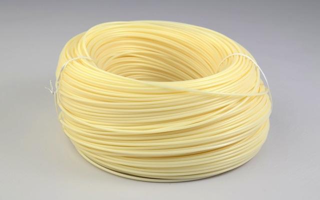 Natural 3mm filament roll
