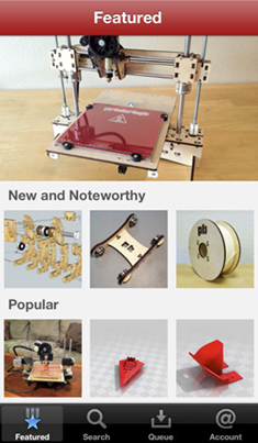 PrintrBot iPhone app MAKRZ 1