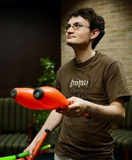 The Juggling Mathematician Himself