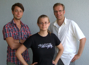 The Trinkle Team - Florian, Marlene and Gunnar
