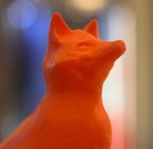 Tom Jurgensen's Noble 3D Printed Fox