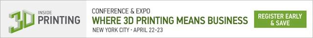Inside 3D Printing: Register now!