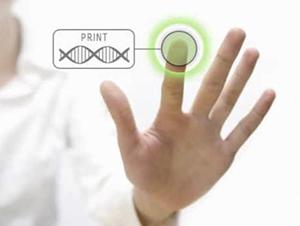 3D print button for biology