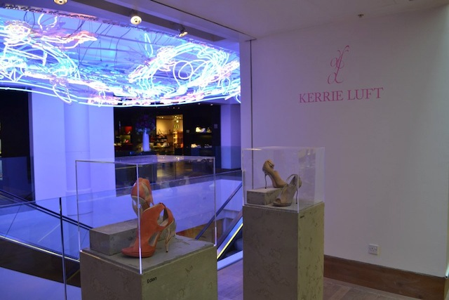 Kerrie Luft's 3D Printed Shoes On Show at Selfridges, London