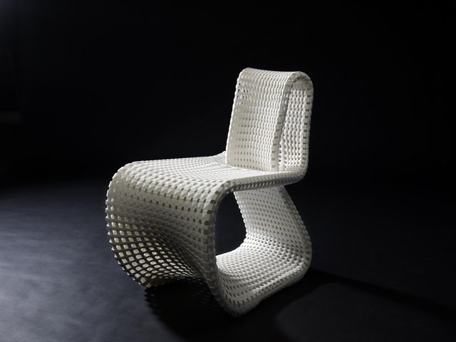 Cellular Loop Chair
