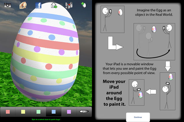 How to paint Egg App 3D