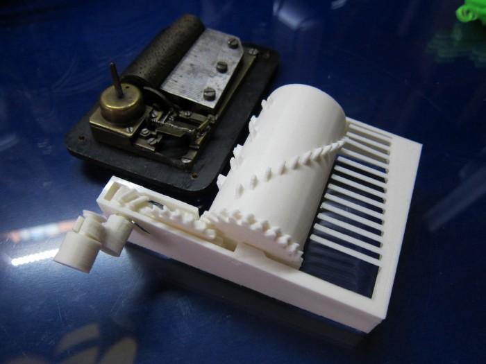 Makerbot Customizer Challenge Artistic Winner Parametric Music Box