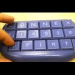 Objet 3D printed Keyboard