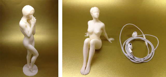 Pensive-and-Sun-Worshipper-3D-Printed-Nudes