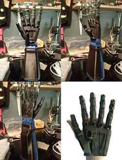 Robotic Hand on Kickstarter