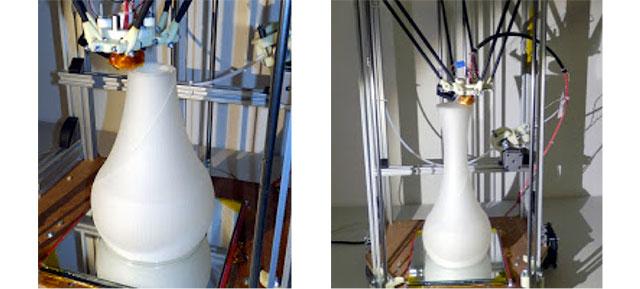 Rostock 3D Printer - Bud Vase