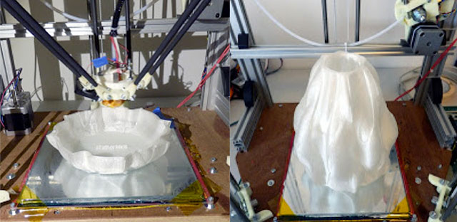 Rostock 3D Printer - Dizingof Math Art