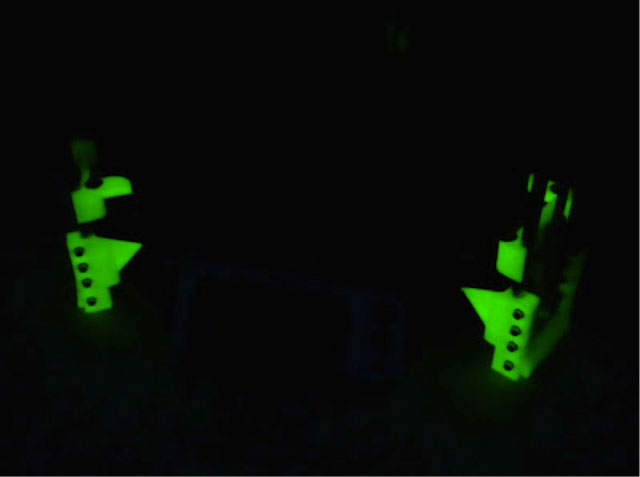 Did I mention this Rostock glows!