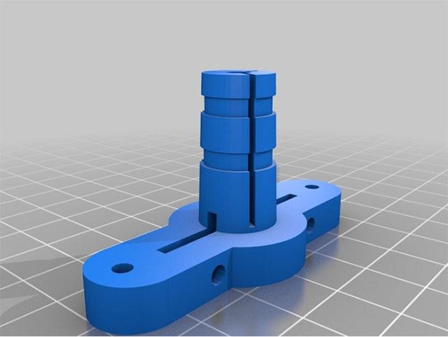 Rostock 3D printer - J-head design by Piit79