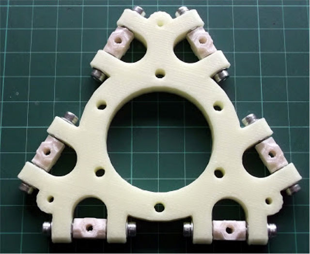 Rostock 3D printer - Johann's diagonal rods