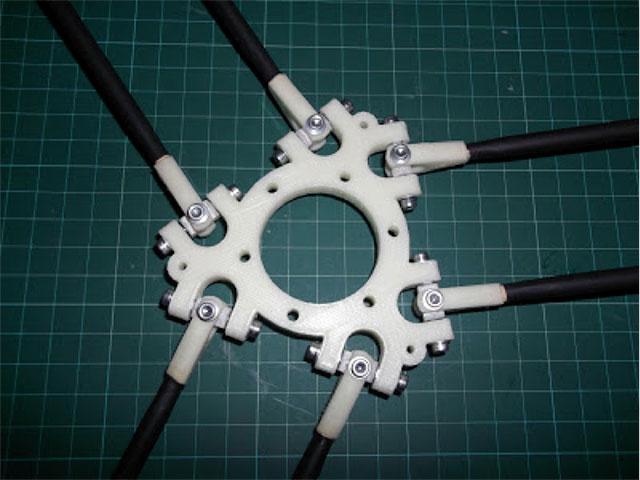 Rostock 3D printer - Johann's diagonal rods2