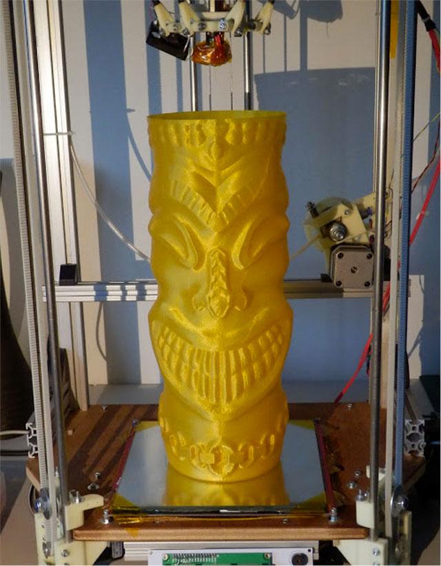 Rostock 3D printer - Object 340mm tall