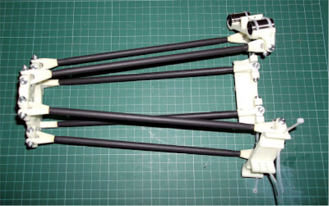 Rostock 3D printer - finished carriage