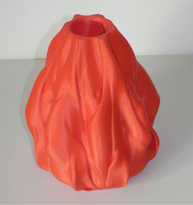 Rostock 3D printer - lava vase3