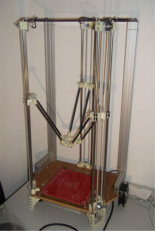 Rostock 3D printer - original design
