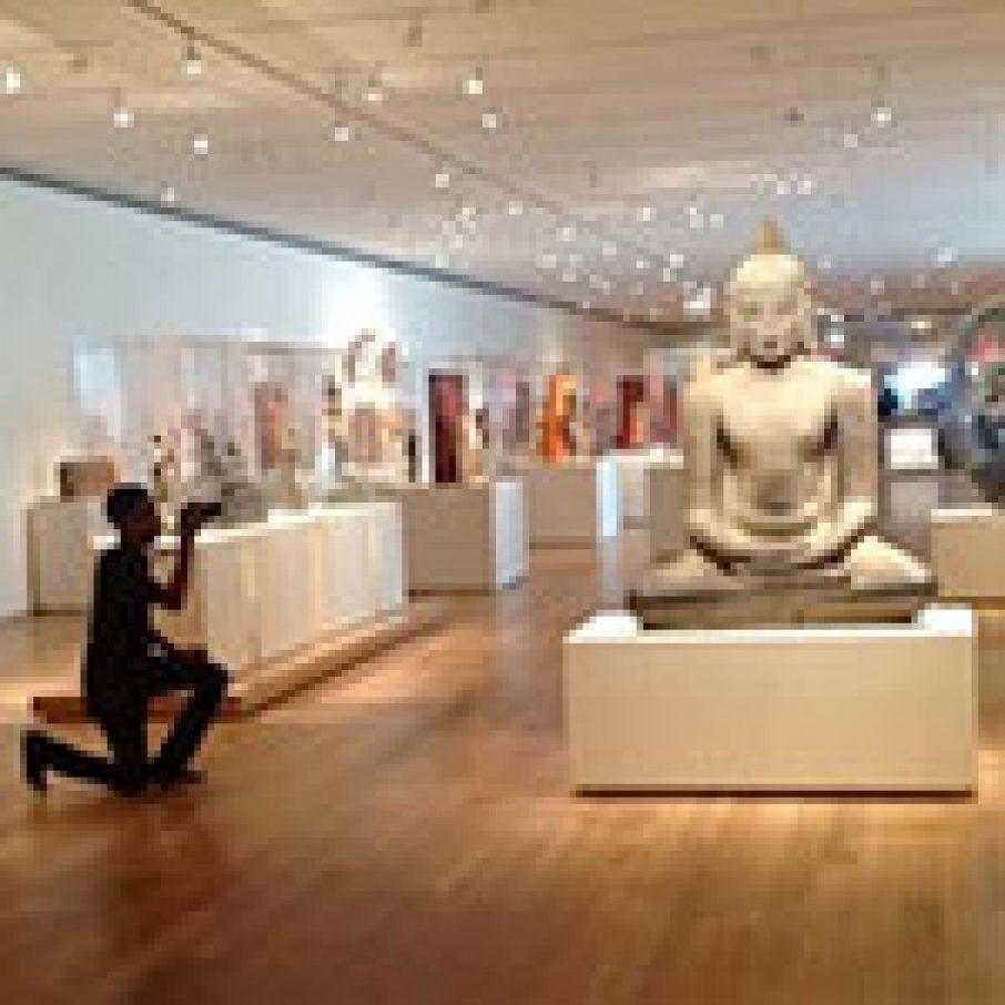 Sculpture scanning for 3D capture Art Institute of Chicago