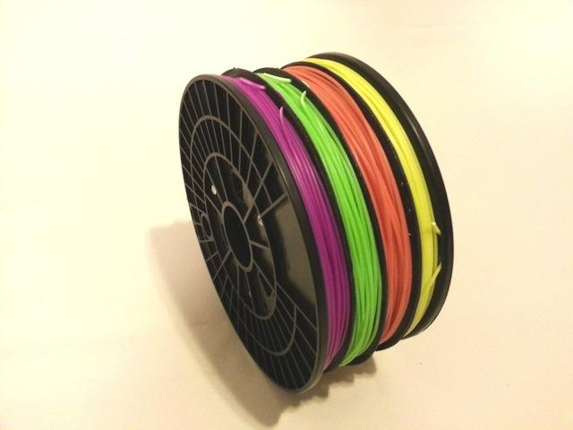 Seascans Multi colour filament roll
